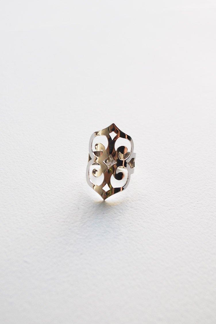 Gypsy Style Δαχτυλίδι - Ασημί accessories   κοσμήματα
