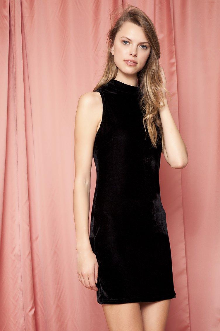 Sleeveless Bodycon Φόρεμα - Μαύρο clothes   φορέματα   φόρμες   mini φορέματα