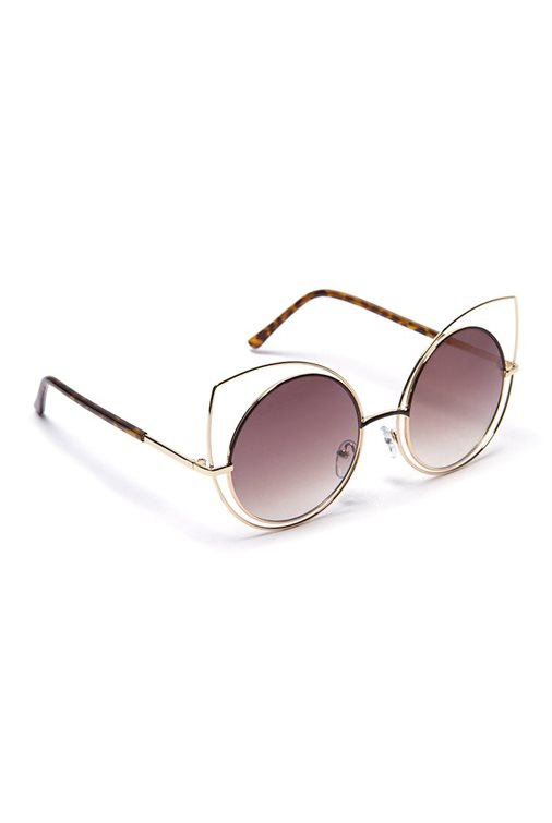 CUT EYE ROUND SHADES
