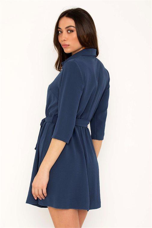 ΜΙΝΙ ΦΟΡΕΜΑ ΜΕ ΖΩΝΗ - CLOTHES -  Φορέματα   Φόρμες -  Mini φορέματα ... e2c4f5fd6f2