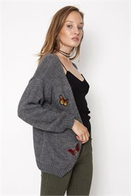Butterfly Knit Jacket