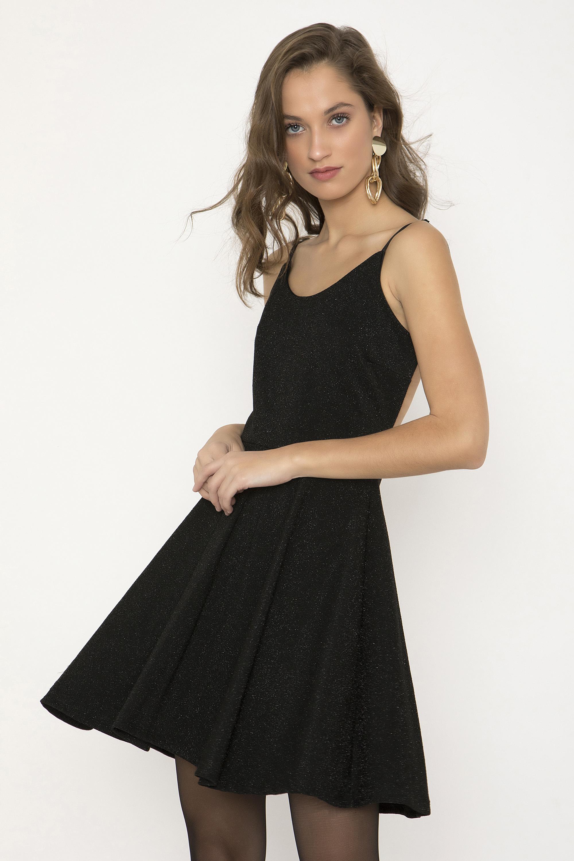 ΜΕΤΑΛΙΖΕ ΜΙΝΙ ΕΞΩΠΛΑΤΟ ΦΟΡΕΜΑ - CLOTHES -  Φορέματα   Φόρμες -  Mini  φορέματα  b06fd7cc224