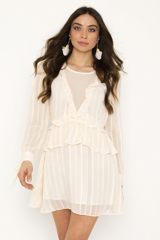 2f63bec269d ΜΙΝΙ ΦΟΡΕΜΑ ΜΕ ΒΟΛΑΝ - CLOTHES -> Φορέματα & Φόρμες -> Mini φορέματα ...
