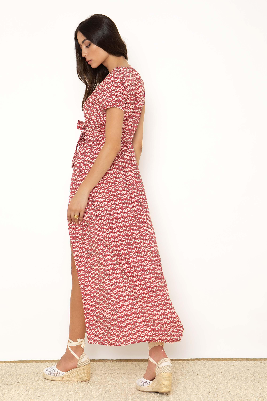 e47d9abc937 ΜΑΧΙ ΚΡΟΥΑΖΕ ΕΜΠΡΙΜΕ ΦΟΡΕΜΑ - CLOTHES -> Φορέματα & Φόρμες -> Maxi ...