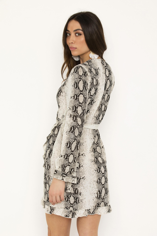 7be895f8aed3 MINI ΚΡΟΥΑΖΕ ANIMAL PRINT ΦΟΡΕΜΑ - CLOTHES -  Φορέματα   Φόρμες ...