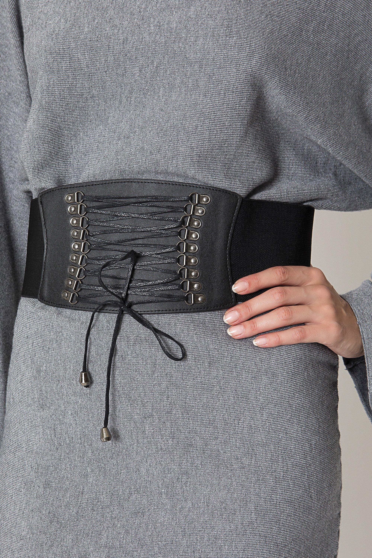 CORSET ΖΩΝΗ - Μαύρο accessories   ζώνες