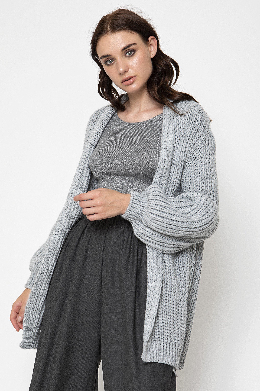 OVERSIZED ΖΑΚΕΤΑ - Ανοιχτό γκρι clothes   jackets   ζακέτες