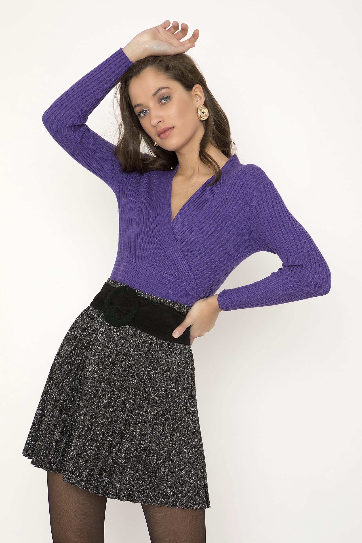ΠΛΙΣΕ ΜΕΤΑΛΙΖΕ MINI ΦΟΥΣΤΑ - CLOTHES -  Φούστες  990aa42df9c