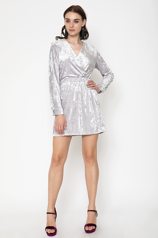 VELVET ΦΟΡΕΜΑ - Ανοιχτό γκρι clothes   φορέματα   φόρμες   mini φορέματα