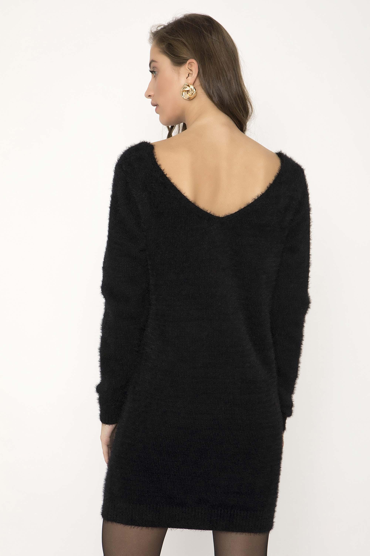 ΧΝΟΥΔΩΤΟ ΠΛΕΚΤΟ ΦΟΡΕΜΑ - CLOTHES -  Φορέματα   Φόρμες -  Mini φορέματα  7c32a3dcd61
