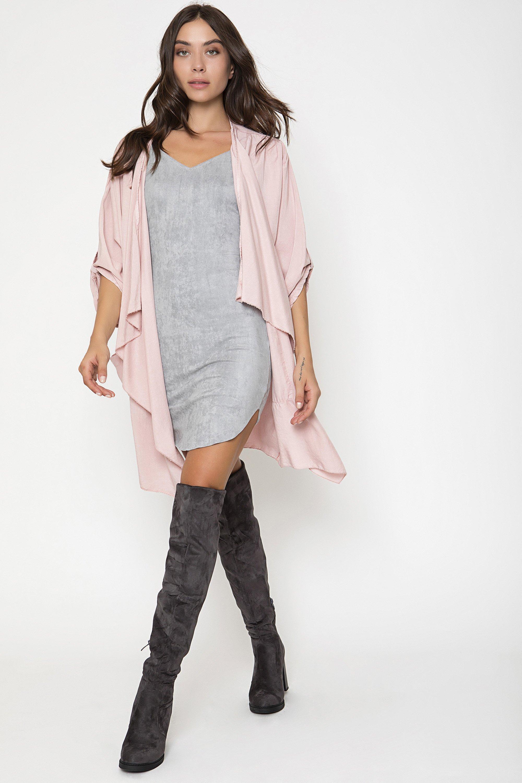 OVERSIZED JACKET - Ροζ clothes   jackets   ζακέτες