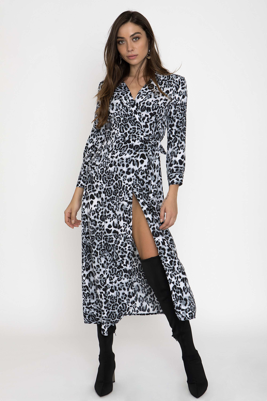 978f91829148 LEOPARD MAXI ΚΡΟΥΑΖΕ ΦΟΡΕΜΑ - CLOTHES -  Φορέματα   Φόρμες -  Maxi φορέματα