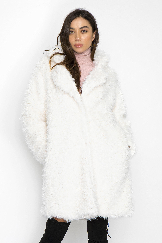 ΓΟΥΝΙΝΟ ΠΑΛΤΟ - CLOTHES -  Πανωφόρια -  Παλτό   μπουφάν  3f76aed50f4