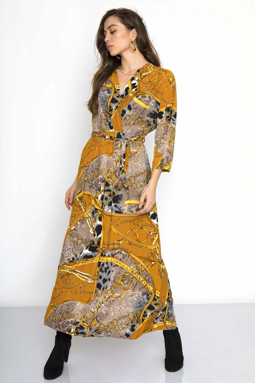 1ef2e24b5175 MAXI ΚΡΟΥΑΖΕ ΦΟΡΕΜΑ - CLOTHES -  Φορέματα   Φόρμες -  Maxi φορέματα ...