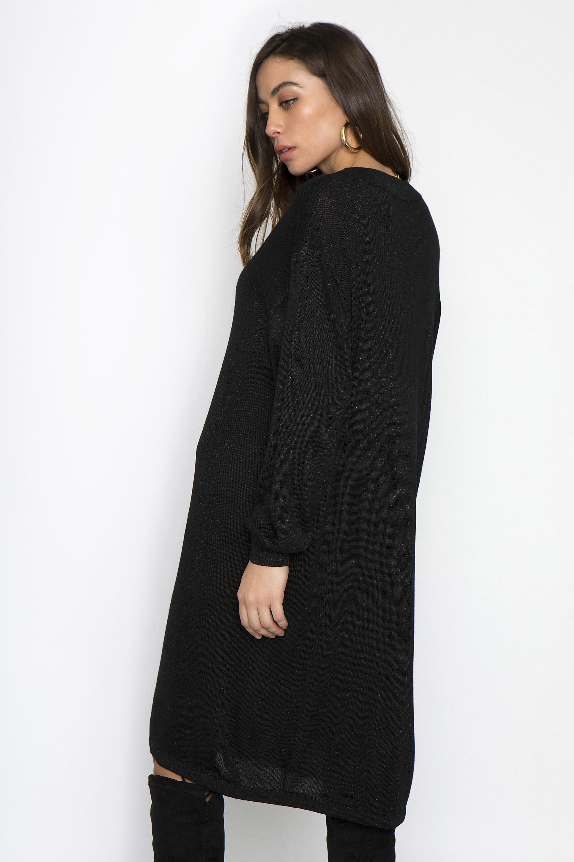f2d7c912b5fa GLITTER ΦΟΡΕΜΑ V ΛΑΙΜΟΚΟΨΗ - CLOTHES -  Φορέματα   Φόρμες -  Mini ...