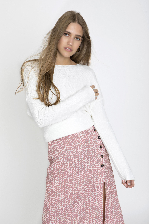 3cf59509e1cb OVERSIZED ΠΛΕΚΤΗ ΜΠΛΟΥΖΑ - CLOTHES -  Tops -  Μπλούζες