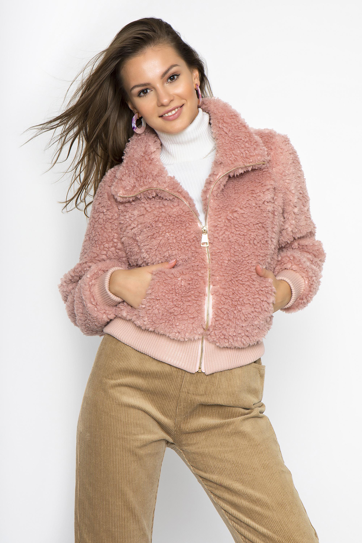 ΓΟΥΝΙΝΟ JACKET - CLOTHES -  Πανωφόρια -  Παλτό   μπουφάν  8b209e8254b