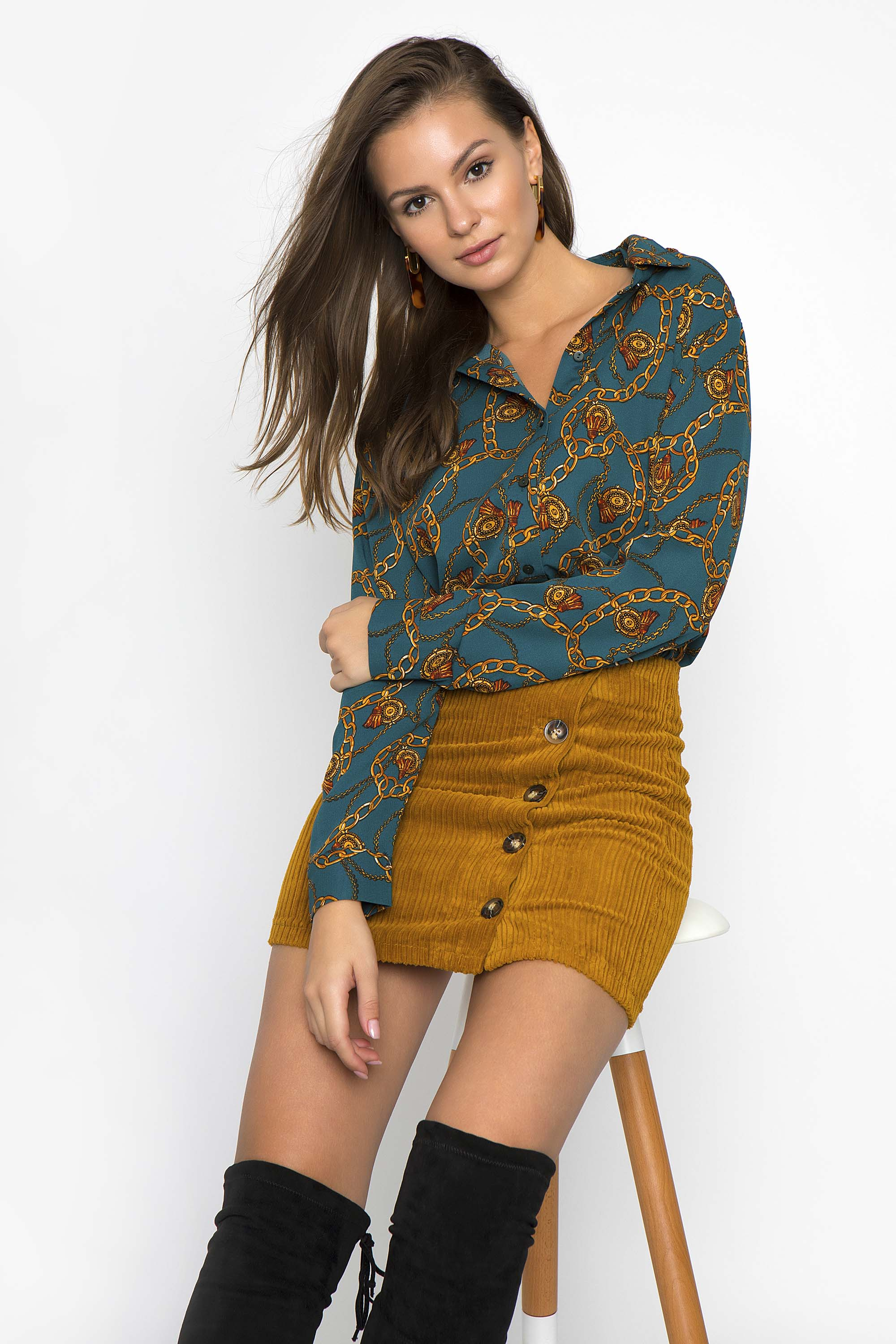 d49f0be0b520 ΕΜΠΡΙΜΕ ΠΟΥΚΑΜΙΣΑ - CLOTHES -  Tops -  Πουκάμισα