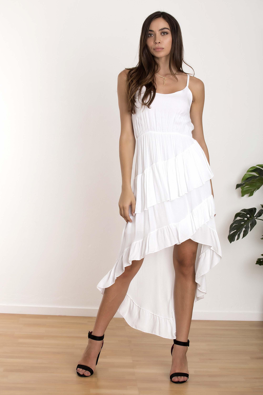 ab18ca0f5a0 ΑΣΥΜΜΕΤΡΟ ΦΟΡΕΜΑ ΜΕ ΒΟΛΑΝ - CLOTHES -> Φορέματα & Φόρμες -> Midi ...