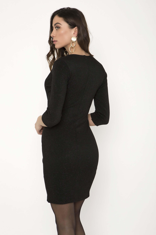 ΜΕΤΑΛΙΖΕ ΦΟΡΕΜΑ ΣΑΚΑΚΙ - CLOTHES -  Φορέματα   Φόρμες -  Mini φορέματα  c854a5e9e59