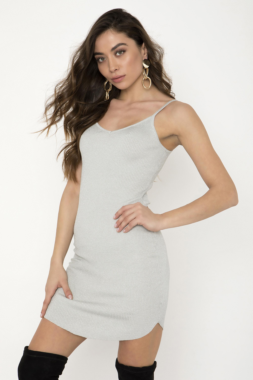 0feafb0bfe39 ΜΙΝΙ ΜΕΤΑΛΙΖΕ ΦΟΡΕΜΑ - CLOTHES -  Φορέματα   Φόρμες -  Mini φορέματα ...