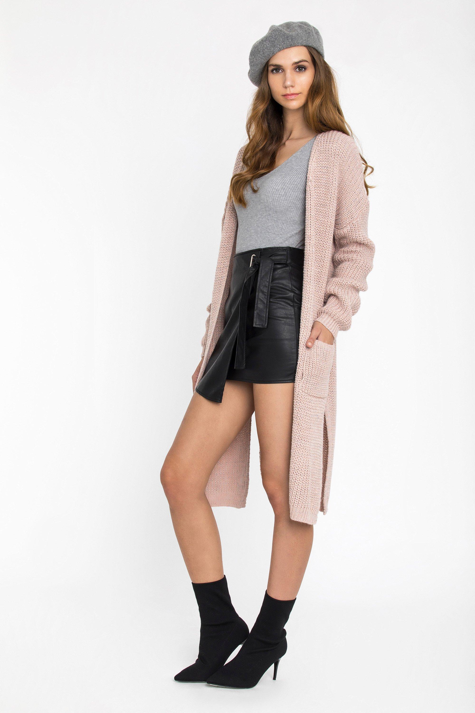 MIDI ΠΛΕΚΤΗ ΖΑΚΕΤΑ - Ροζ clothes   jackets   ζακέτες