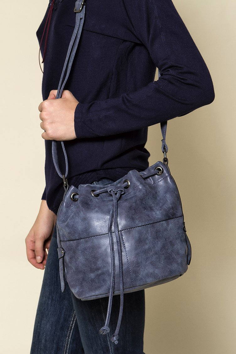 Duffle Cross Body Bag - Μπλε accessories   τσάντες