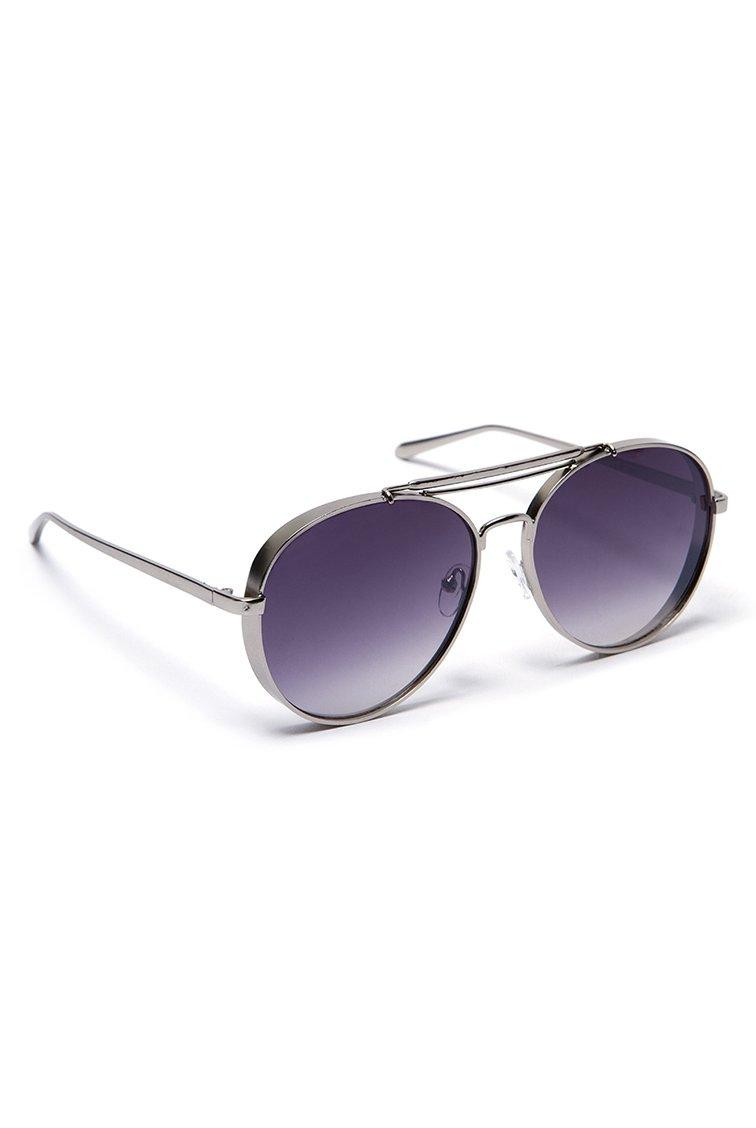 Aviator Shades - Ασημί accessories   γυαλιά ηλίου